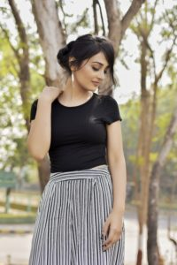 Culottes Black Top Checksulottes Black Top