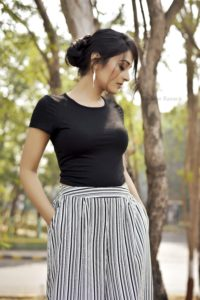 Culottes Black Top