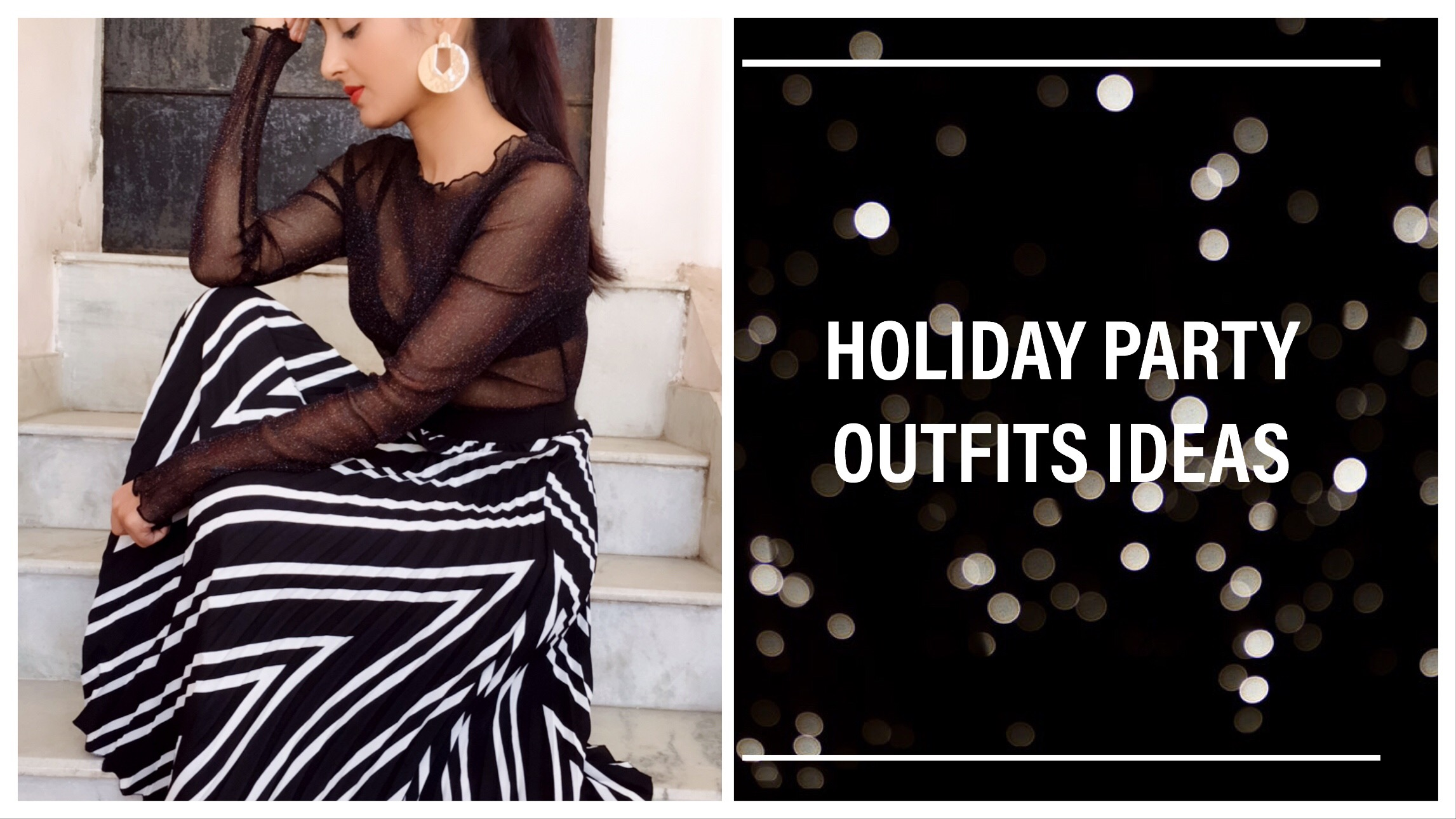 Holiday party outfit ideas