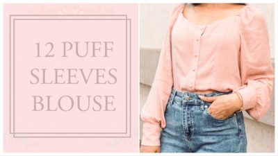 10 Puff Sleeve Blouses/Tops