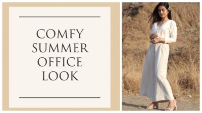 Comfy summer office look