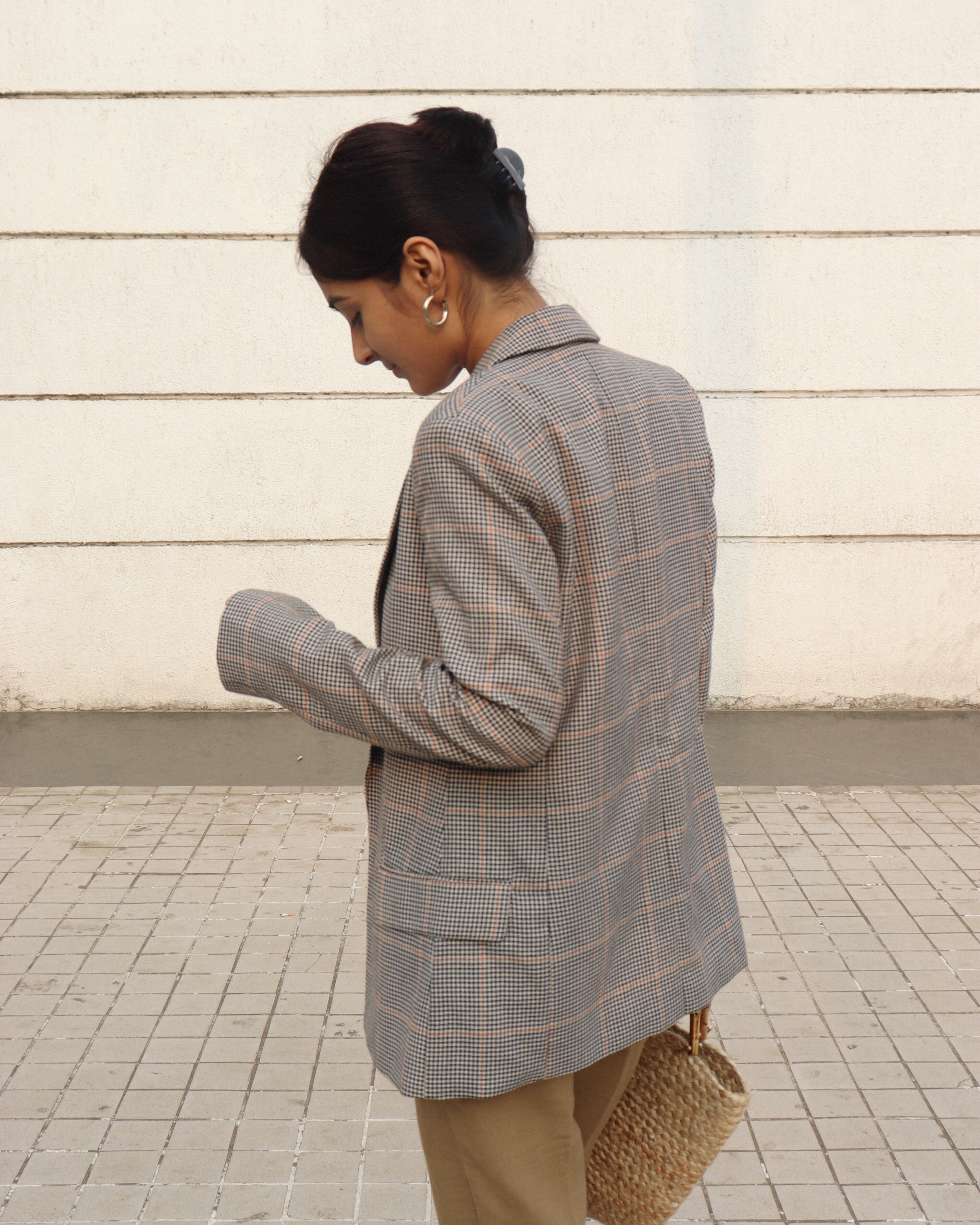 How to style plaid blazers - Prity Singh