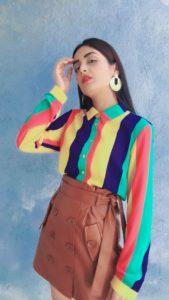 Leather and Rainbow   fashionraasa